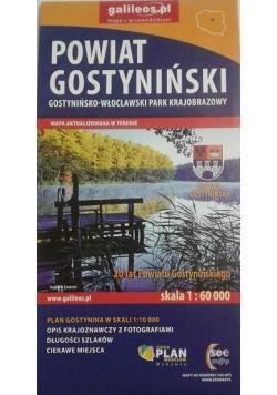 Mapa - Gostynińsko- Włocławski PK 1:60 000