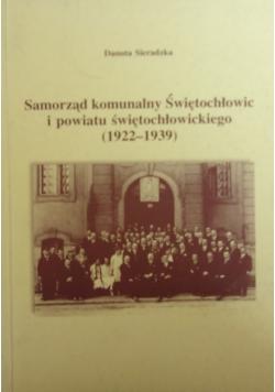 Samorząd komunalny Świętochłowic i powiatu świętochłowickiego (1922-1939)