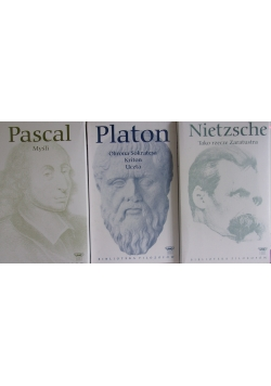 Platon/ Pascal/ Nietzsche
