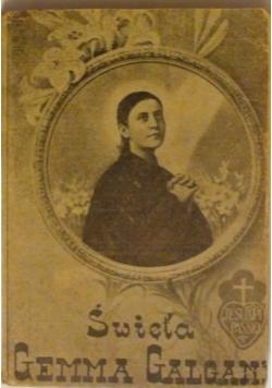 Święta Gemma Galgani 1938 r.