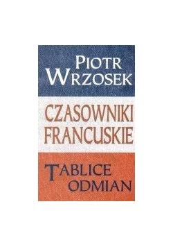 Czasowniki francuskie Tablice odmian  KRAM