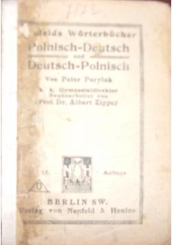 Worterbucher Polnisch-Deutsch und Deutsch-Polnisch