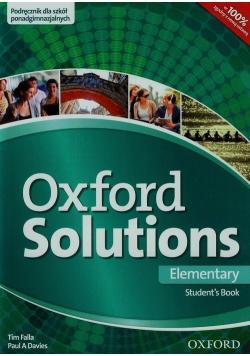 Oxford Solutions Elementary Podręcznik