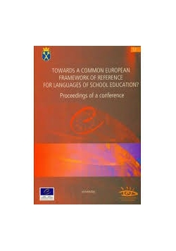Towards a Common European Framework of Reference for Languages of School Education? , Nowa