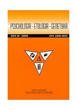 Psychologia etologia genetyka tom 28