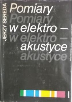 Pomiary w elektroakustyce