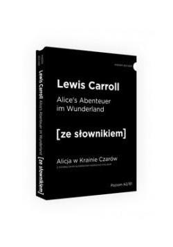 Alicja w Krainie Czarów w.niemiecka + słownik