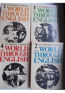 The World Through English, Tom I- IV