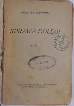 Sprawa dołęgi, 1928 r.