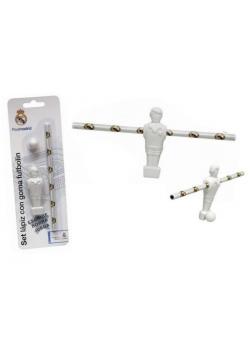 Ołówek z gumką piłkarzykiem Real Madrid