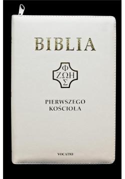 Biblia pierwszego Kościoła z paginatorami biała