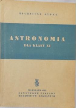 Astronomia dla klasy XI