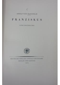 Franziskus, 1925 r.