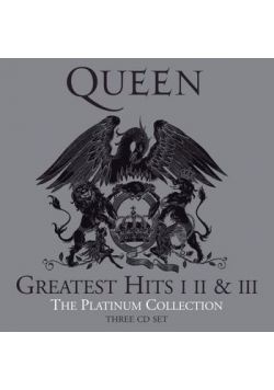 QUEEN Greatest Hits I II & III The Platinum Collection,płyta CD