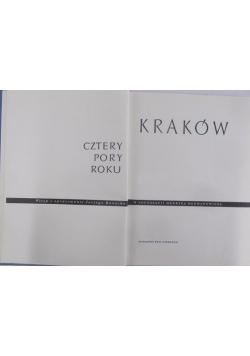 Kraków cztery pory roku