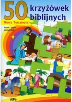 50 krzyżówek biblijnych Nowy Testament