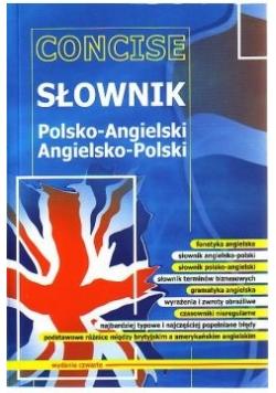 Concise - Słownik polsko- angielski, angielsko - polski