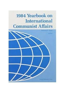 1984 yearbook on international communist Affairs