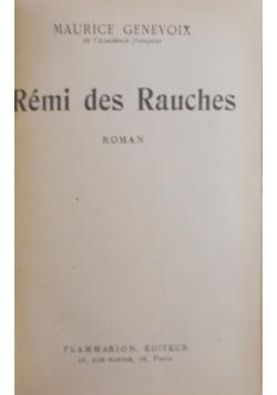 Remi des  Rauches, 1922 r.