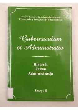 Historia, Prawo, Administracja, Zeszyt II