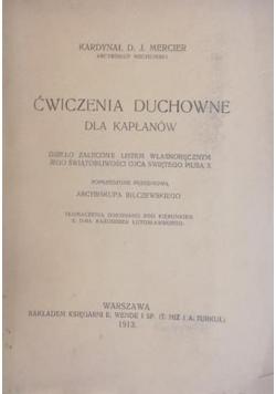 Ćwiczenia duchowe dla kapłanów, 1913 r.