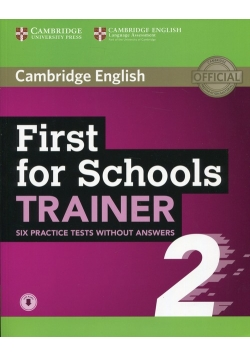 First for Schools Trainer 2 without answers