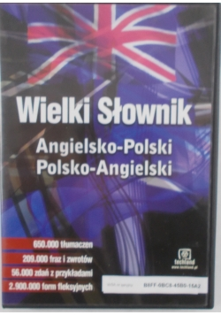 Wielki słownik Angielsko polski, Polsko angielski
