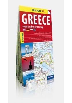 See you! in... Grecja (Greece) 1:750 000 mapa