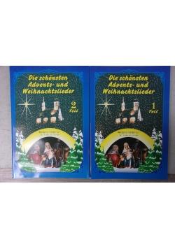 Die schonstern Advents-und Weihnachtslieder, cz.1,2