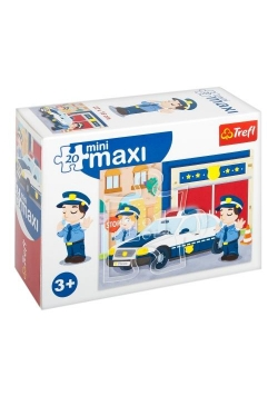 Puzzle 20 miniMaxi - Policja 3 TREFL