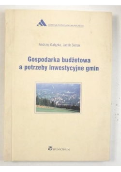 Gałązka Andrzej, Sierak Jacek - Gospodarka budżetowa a potrzeby inwestycyjne gmin
