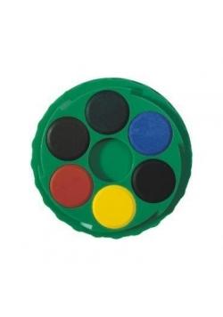 Farby akwarelowe 24 kolory okrągłe