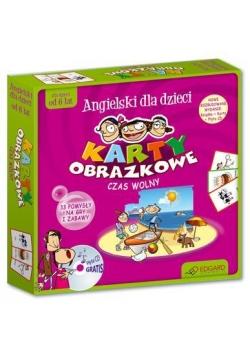 Ang. Karty obrazkowe Czas wolny w.2012  EDGARD