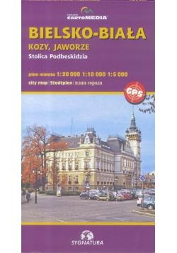 Bielsko-Biała Plan miasta
