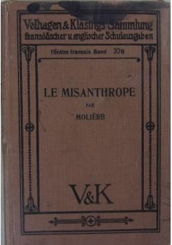 Le Misanthrope, 1928 r.