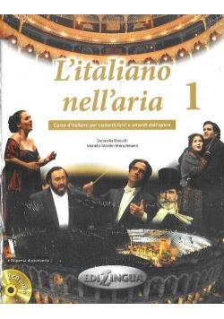 L'italiano nell'aria 1 Podręcznik +CD