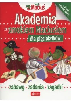 Akademia ze Smokiem Maciusiem dla pięciolatków