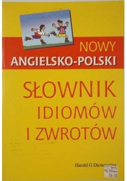 Simbierowicz Lidia - Nowy angielsko-polski słownik idiomów i zwrotów