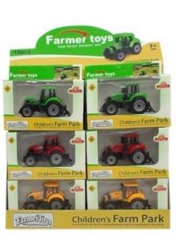 Traktor plastikowy