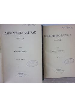 Inscriptiones latinae, I- II, pars 1