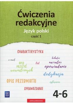Ćwiczenia redakcyjne 4-6 Język polski Część 1