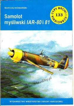 Samolot myśliwski IAR - 80 i 81