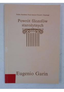Powrót filozofów starożytnych, tom II