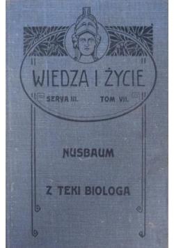 Z teki biologa, 1905 r.