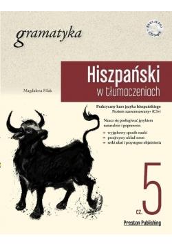 Hiszpański w tłumaczeniach. Gramatyka 5