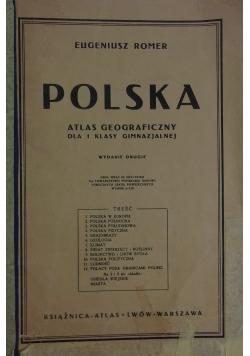 Polska atlas geograficzny