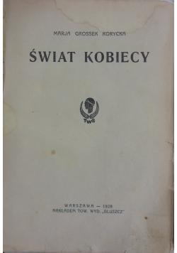 Świat Kobiecy ,1928r.