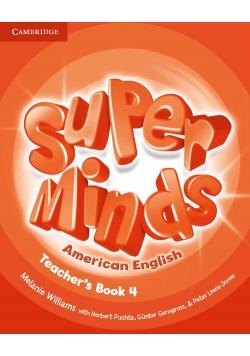 Super Minds American English 4 Teacher's Book 4