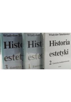 Historia estetyki Tom I-III