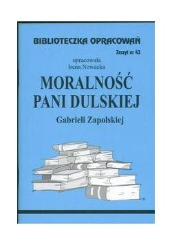 Biblioteczka opracowań nr 043 Moralność pani......